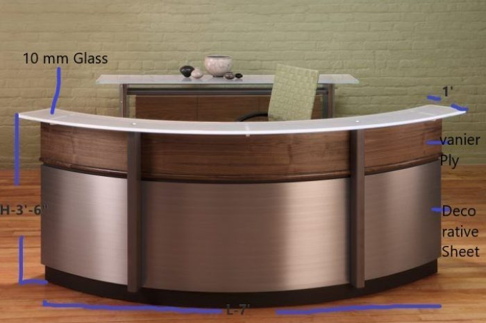 Reception Desk-1-Tk-45,000